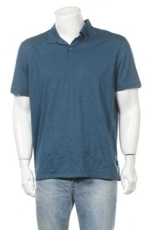 Ανδρικό t-shirt Calvin Klein, Μέγεθος XL, Χρώμα Μπλέ, Τιμή 18,19€
