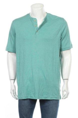 Ανδρικό t-shirt Croft & Barrow, Μέγεθος L, Χρώμα Πράσινο, 60% βαμβάκι, 40% πολυεστέρας, Τιμή 11,72€