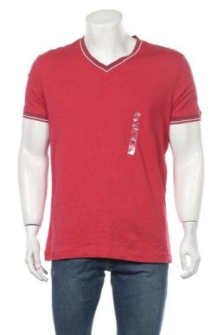 Ανδρικό t-shirt Defacto, Μέγεθος XL, Χρώμα Κόκκινο, Βαμβάκι, Τιμή 8,45€