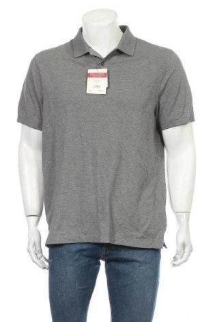 Ανδρικό t-shirt Denver Hayes, Μέγεθος L, Χρώμα Γκρί, 94% βαμβάκι, 6% ελαστάνη, Τιμή 16,96€