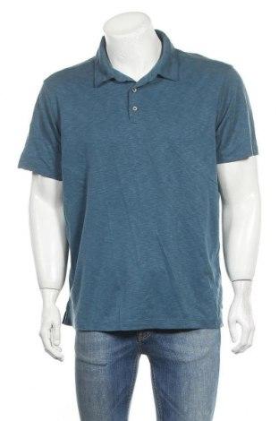 Ανδρικό t-shirt Denver Hayes, Μέγεθος XL, Χρώμα Μπλέ, 70% μοντάλ, 30% πολυεστέρας, Τιμή 10,52€