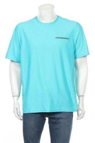 Ανδρικό t-shirt Denver Hayes, Μέγεθος L, Χρώμα Μπλέ, Πολυεστέρας, Τιμή 10,49€