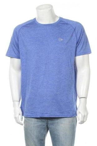 Ανδρικό t-shirt Dunlop, Μέγεθος XL, Χρώμα Μπλέ, Πολυεστέρας, Τιμή 10,49€