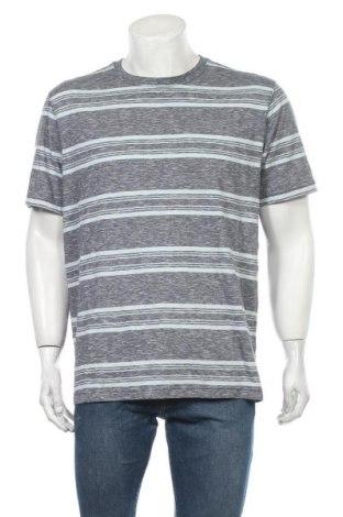 Ανδρικό t-shirt George, Μέγεθος L, Χρώμα Μπλέ, 60% βαμβάκι, 40% πολυεστέρας, Τιμή 10,49€
