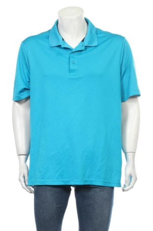 Ανδρικό t-shirt George, Μέγεθος XL, Χρώμα Μπλέ, 95% πολυεστέρας, 5% ελαστάνη, Τιμή 9,87€