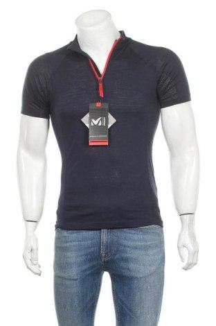Мъжка тениска Millet, Размер S, Цвят Син, 50% вълна, 50% полиестер, Цена 59,25лв.