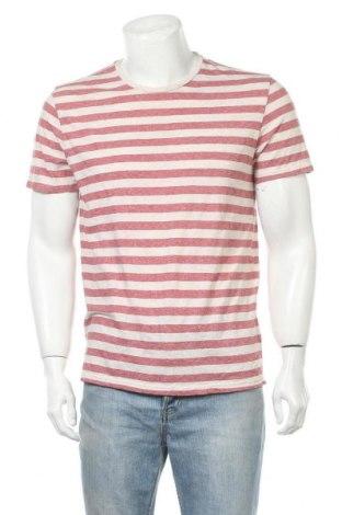 Ανδρικό t-shirt Mossimo, Μέγεθος L, Χρώμα  Μπέζ, 60% βαμβάκι, 40% πολυεστέρας, Τιμή 11,11€
