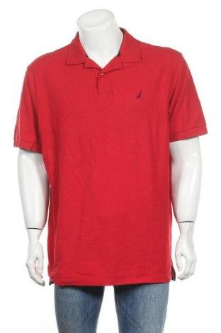 Ανδρικό t-shirt Nautica, Μέγεθος XL, Χρώμα Κόκκινο, Βαμβάκι, Τιμή 21,59€