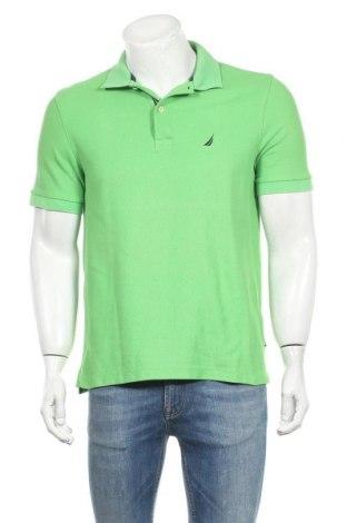 Ανδρικό t-shirt Nautica, Μέγεθος M, Χρώμα Πράσινο, 62% βαμβάκι, 38% πολυεστέρας, Τιμή 20,48€