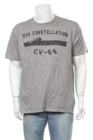 Ανδρικό t-shirt Port & Company, Μέγεθος XL, Χρώμα Γκρί, Βαμβάκι, Τιμή 6,23€