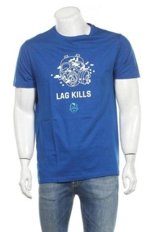 Ανδρικό t-shirt Riders, Μέγεθος L, Χρώμα Μπλέ, Τιμή 12,06€