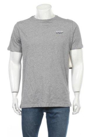 Ανδρικό t-shirt Rip Curl, Μέγεθος L, Χρώμα Γκρί, Βαμβάκι, Τιμή 23,38€