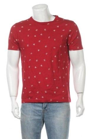 Ανδρικό t-shirt Seed, Μέγεθος M, Χρώμα Κόκκινο, Βαμβάκι, Τιμή 7,01€
