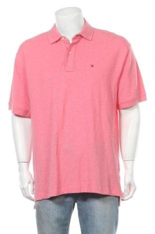 Pánské tričko  Tommy Hilfiger, Velikost XL, Barva Růžová, Bavlna, Cena  1152,00Kč