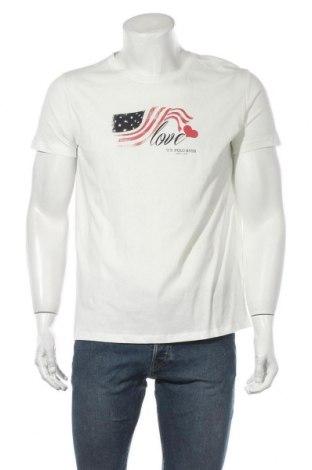 Ανδρικό t-shirt U.S. Polo Assn., Μέγεθος L, Χρώμα Λευκό, Βαμβάκι, Τιμή 26,63€