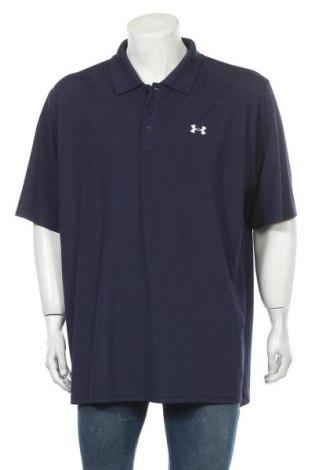 Мъжка тениска Under Armour, Размер XXL, Цвят Син, 95% полиестер, 5% еластан, Цена 30,45лв.