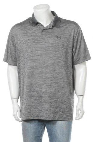 Мъжка тениска Under Armour, Размер XL, Цвят Сив, 92% полиестер, 8% еластан, Цена 29,40лв.