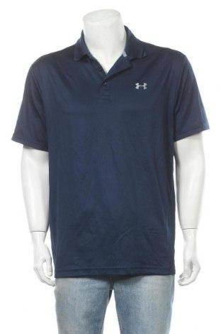Мъжка тениска Under Armour, Размер XL, Цвят Син, 95% полиестер, 5% еластан, Цена 21,74лв.