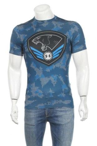 Мъжка тениска Under Armour, Размер L, Цвят Син, Цена 27,93лв.