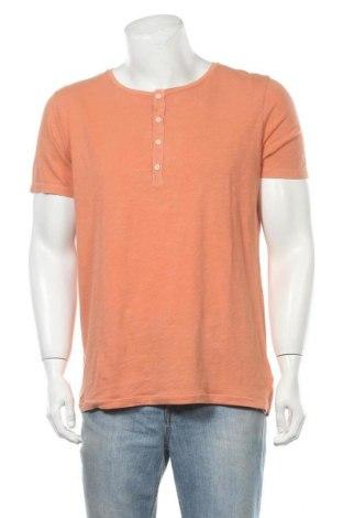 Ανδρικό t-shirt United Colors Of Benetton, Μέγεθος XL, Χρώμα Πορτοκαλί, Βαμβάκι, Τιμή 11,21€