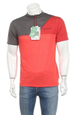 Мъжка тениска Vaude, Размер M, Цвят Сив, 88% полиестер, 12% вълна, Цена 44,25лв.
