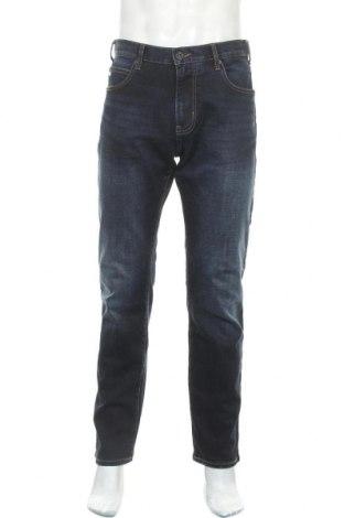 Мъжки дънки Emporio Armani, Размер L, Цвят Син, 98% памук, 2% еластан, Цена 232,87лв.