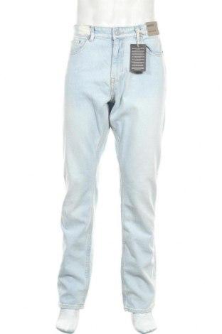 Ανδρικό τζίν New Look, Μέγεθος L, Χρώμα Μπλέ, 99% βαμβάκι, 1% ελαστάνη, Τιμή 19,21€
