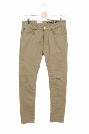 Мъжки дънки Religion, Размер M, Цвят Зелен, 98% памук, 2% еластан, Цена 22,14лв.