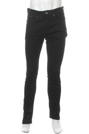 Мъжки дънки Tommy Hilfiger, Размер M, Цвят Черен, 90% памук, 10% еластан, Цена 141,75лв.