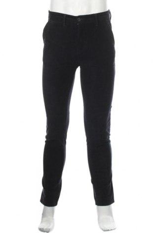 Ανδρικό κοτλέ παντελόνι Liu Jo, Μέγεθος S, Χρώμα Μπλέ, 98% βαμβάκι, 2% ελαστάνη, Τιμή 20,04€