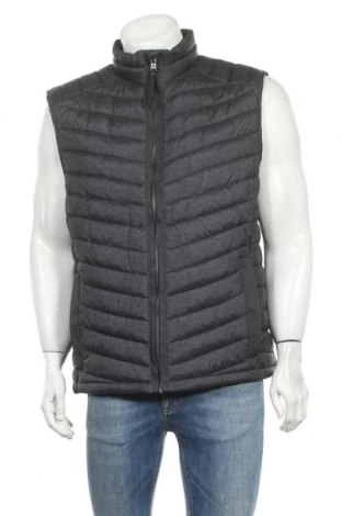 Мъжки елек Tom Tailor, Размер XL, Цвят Сив, Полиестер, Цена 71,40лв.