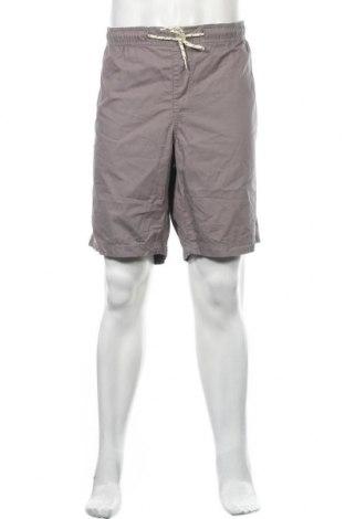Мъжки къс панталон Angelo Litrico, Размер XXL, Цвят Сив, Памук, Цена 12,50лв.