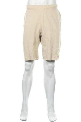 Мъжки къс панталон Champion, Размер XL, Цвят Бежов, Памук, полиестер, Цена 22,05лв.