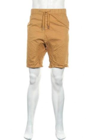 Мъжки къс панталон Mantaray, Размер XL, Цвят Бежов, 98% памук, 2% еластан, Цена 15,12лв.