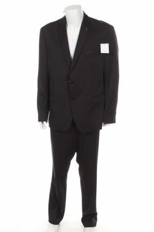 Мъжки костюм Bruno Banani, Размер XXL, Цвят Черен, 85% полиестер, 13% вискоза, 2% еластан, Цена 155,40лв.
