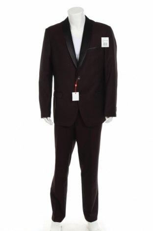 Мъжки костюм Bruno Banani, Размер XL, Цвят Лилав, 83% полиестер, 17% вискоза, Цена 189,07лв.