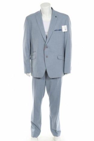 Мъжки костюм Bruno Banani, Размер XXL, Цвят Син, 69% полиестер, 29% вискоза, 2% еластан, Цена 129,50лв.
