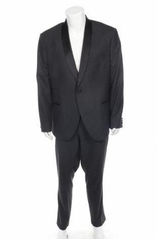 Costum de bărbați Isaac Dewhirst, Mărime XXL, Culoare Gri, 65% poliester, 34% viscoză, 1% elastan, Preț 219,48 Lei