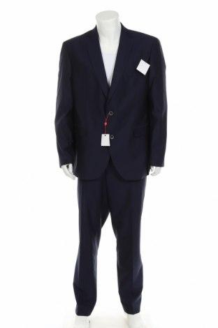 Мъжки костюм Man's World, Размер XL, Цвят Син, 77% полиестер, 20% вискоза, 3% еластан, Цена 94,87лв.