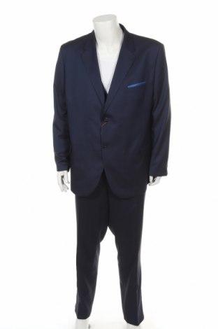 Мъжки костюм Man's World, Размер XXL, Цвят Син, 73% полиестер, 27% вискоза, Цена 145,27лв.