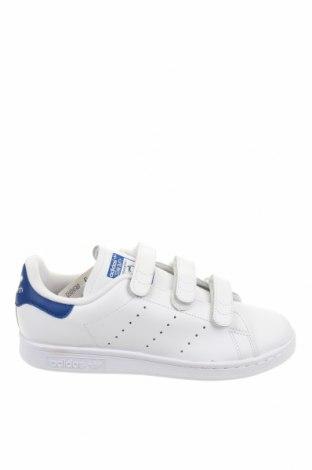 Мъжки обувки Adidas & Stan Smith, Размер 38, Цвят Бял, Естествена кожа, Цена 107,40лв.