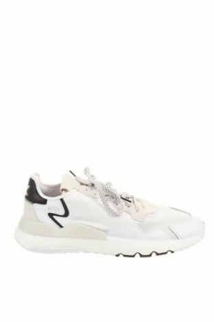 Мъжки обувки Adidas Originals, Размер 49, Цвят Бял, Естествена кожа, текстил, естествен велур, Цена 80,55лв.