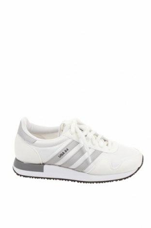Мъжки обувки Adidas Originals, Размер 38, Цвят Бял, Текстил, Цена 101,40лв.