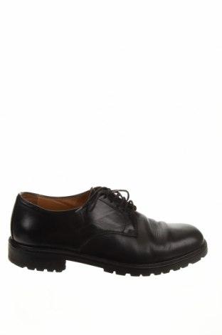 Ανδρικά παπούτσια Bally, Μέγεθος 43, Χρώμα Μαύρο, Γνήσιο δέρμα, Τιμή 94,89€