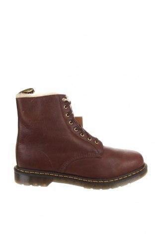 Мъжки обувки Dr. Martens, Размер 48, Цвят Червен, Естествена кожа, Цена 197,40лв.