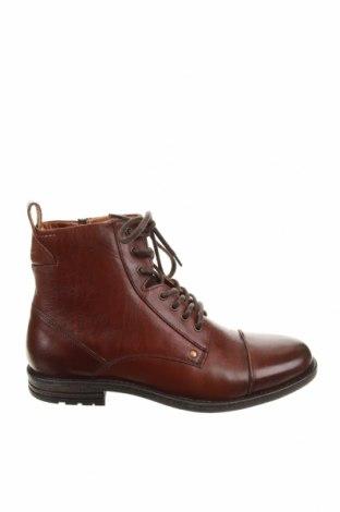 Мъжки обувки Pier One, Размер 43, Цвят Кафяв, Естествена кожа, Цена 89,40лв.