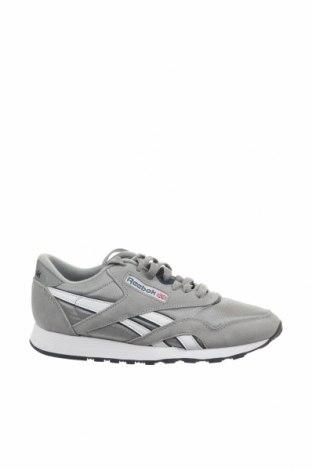Мъжки обувки Reebok, Размер 38, Цвят Сив, Текстил, естествен велур, Цена 104,25лв.