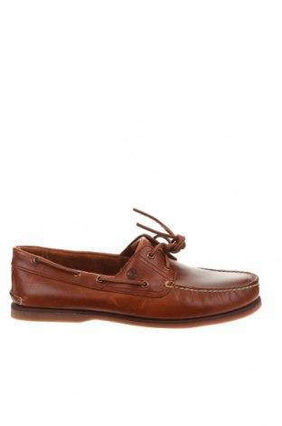 Мъжки обувки Timberland, Размер 49, Цвят Кафяв, Естествена кожа, Цена 239,25лв.