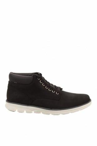 Мъжки обувки Timberland, Размер 44, Цвят Черен, Естествена кожа, Цена 127,60лв.