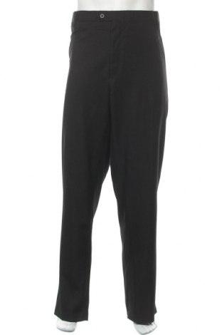 Ανδρικό παντελόνι, Μέγεθος 3XL, Χρώμα Μαύρο, Πολυεστέρας, Τιμή 5,91€